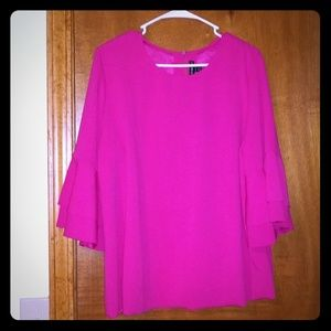 NWOT pink blouse